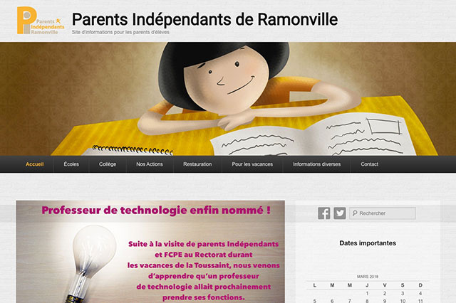 Site Parents Indépendants de Ramonville